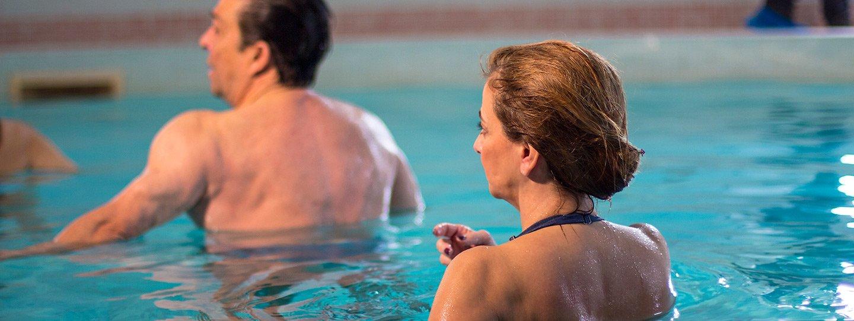 Aula de Hidroterapia