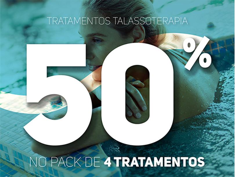 Pack 4 tratamentos Talassoterapia